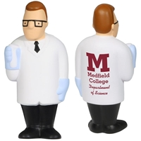 Picture of Custom Printed Scientist Stress Ball