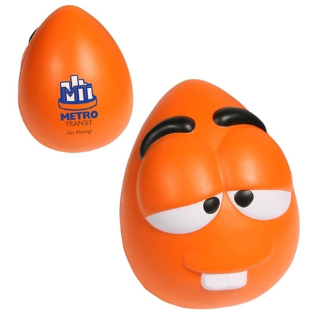 Picture of Custom Printed Mood Maniac Wobbler-Wacky Stress Ball