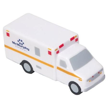 Imprinted Ambulance Stress Ball