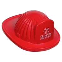 Picture of Custom Printed Fire Helmet Stress Ball