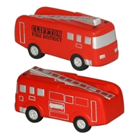 Picture of Custom Printed Fire Truck Stress Ball