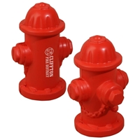 Picture of Custom Printed Fire Hydrant Stress Ball