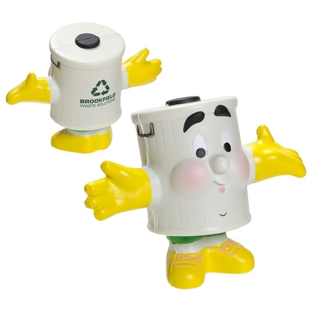 Picture of Custom Printed Mr Recycle Stress Ball