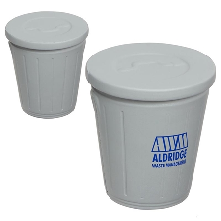 Picture of Custom Printed Trash Can Stress Ball