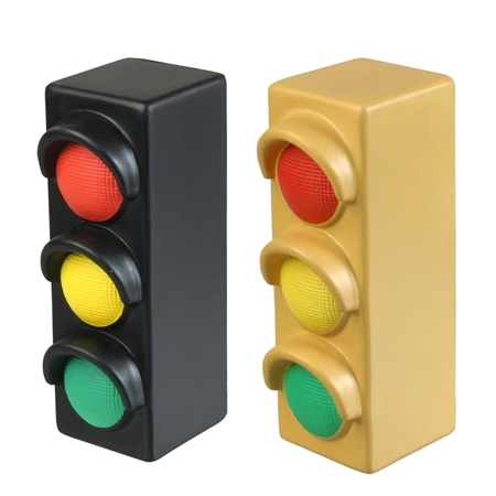 Custom Printed Traffic Light Stress Ball