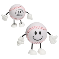Picture of Custom Printed Baseball Figure Stress Ball