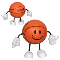 Picture of Custom Printed Basketball Figure Stress Ball