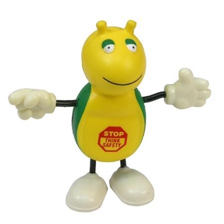 Picture of Custom Printed Cute Bug Figure Stress Ball