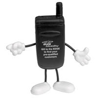 Picture of Custom Printed Cell Phone Figure Stress Ball