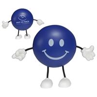 Promotional Round Figure Stress Ball