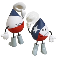 Picture of Custom Printed Texas Figure Stress Ball
