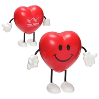 Picture of Custom Printed Valentine Heart Figure Stress Ball
