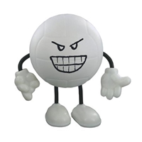Picture of Custom Printed Volleyball Figure Stress Ball