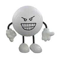 Custom Volleyball Figure Stress Ball
