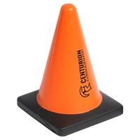Promotional Construction Cone Stress Ball