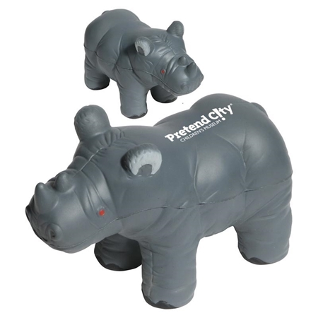 Picture of Custom Printed Rhino Stress Ball