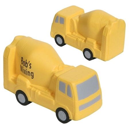 Promotional Concrete Mixer Stress Ball
