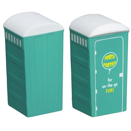 Picture of Custom Printed Porta-Potty Stress Ball