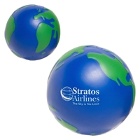 Picture of Custom Printed Earthball Stress Ball