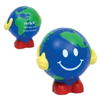 Picture of Custom Printed Earthball Man Stress Ball