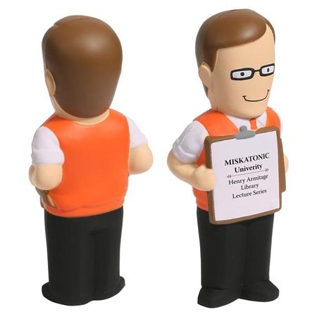 Picture of Custom Printed Male Teacher Stress Ball