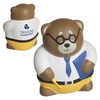 Custom Printed Teacher Bear Stress Balls