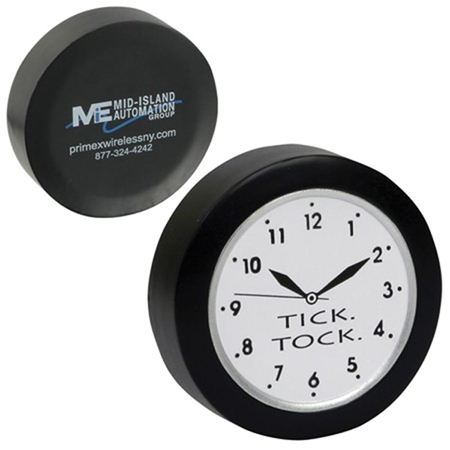 Picture of Custom Printed Clock Stress Ball