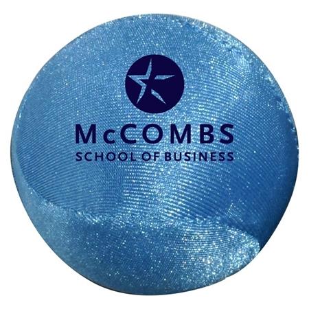 Custom Printed Fabric Round Stress Ball