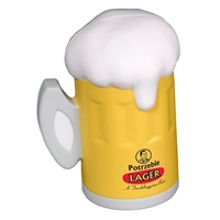 Picture of Custom Printed Beer Mug Stress Ball