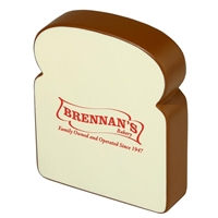 Picture of Custom Printed Bread Slice Stress Ball