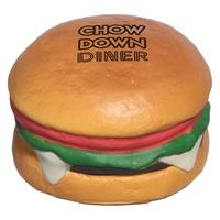 Custom Printed Hamburger Stress Ball