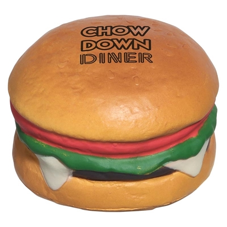 Picture of Custom Printed Hamburger Stress Ball