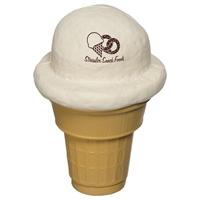 Picture of Custom Printed Ice Cream Cone Stress Ball