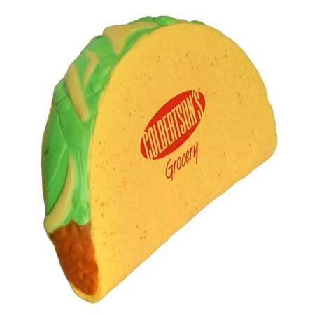 Custom Printed Taco Stress Ball
