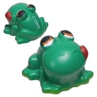 Picture of Custom Printed Cartoon Frog Stress Ball