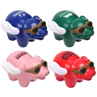 Customizable Flying Pig Stress Ball