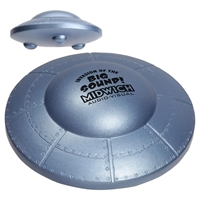 Picture of Custom Printed Flying Saucer Stress Ball