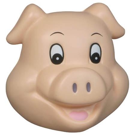 Custom Printed Pig Funny Face Stress Ball