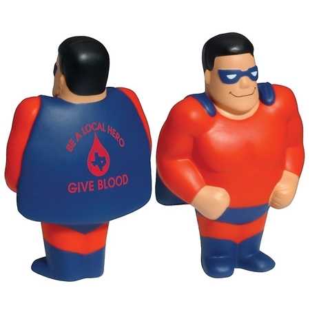 Custom Printed Super Hero Stress Ball