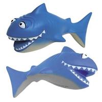 Promotional Cartoon Shark Stress Ball
