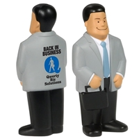 Picture of Custom Printed Businessman Stress Ball