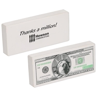 Custom Printed Million Dollar Bill Stress Ball