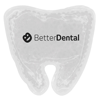 Picture of Custom Printed Tooth Gel Bead Hot/Cold Pack