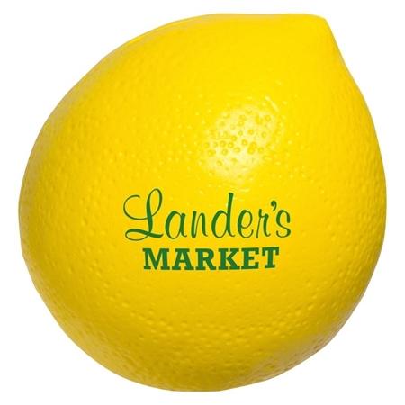 Personalized Lemon Stress Ball