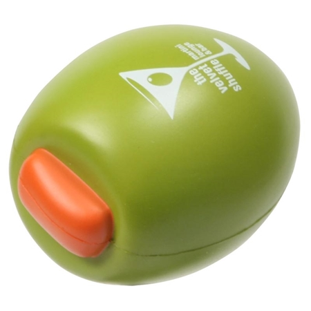 Custom Made Olive Stress Ball