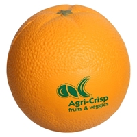 Picture of Custom Printed Orange Stress Ball
