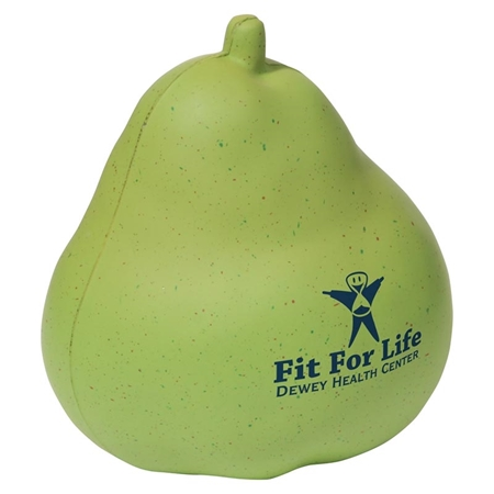 Picture of Custom Printed Pear Stress Ball