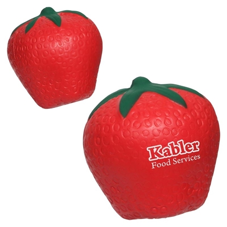 Picture of Custom Printed Strawberry Stress Ball