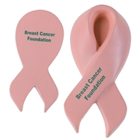 Picture of Custom Printed Awareness Ribbon Stress Ball