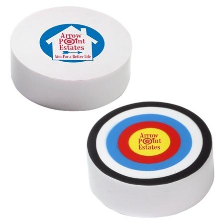 Custom Printed Bullseye Stress Ball